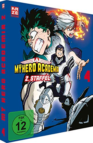 My Hero Academia - Staffel 2 - Vol.4 - [DVD]