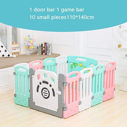 Grote Playpen voor Baby 14 Panelen Activiteitscentrum, Baby Playpen Indoor Veiligheid Speeltuin met Milieuvriendelijk HDPE Materiaal voor Kinderen leeftijd 1-6