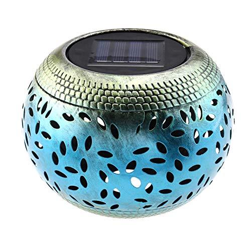 Create Idea Solar LED Tischlaterne Retro Outdoor Warmweiß Terrasse Balkon Haus Dekor CE MSDS Zertifikat 15x15x11cm