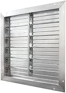 J&D Manufacturing VRSG16A-PSC Aluminum Intake Power Shutter, 16