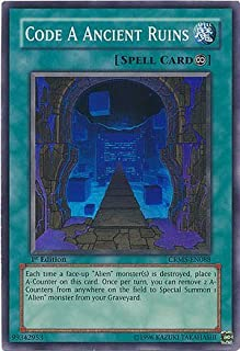 Yu-Gi-Oh! - Code A Ancient Ruins (CRMS-EN088) - Crimson Crisis - 1st Edition - Super Rare