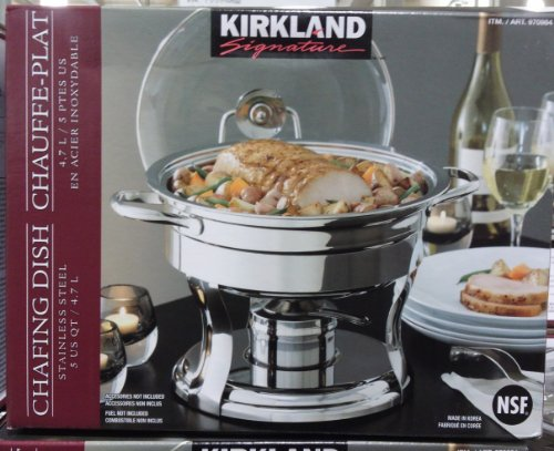 Kirkland Signature Stainless Steel 4.7L Chafing...