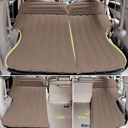 Luftmatratze SUV Auto Luftmatratze Auto Matratze Aufblasbares Beflockt Bett Verlängerte Auto Luftmatratze Auto Luftmatratze mit Pumpe Luftbett für Auto Matratze aufblasbares Bett für Reisen Camping
