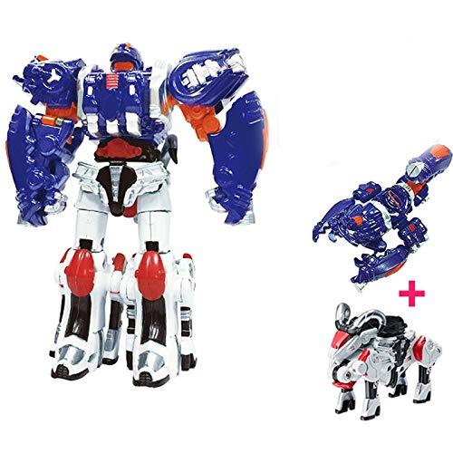 siyushop Transformar Automóvil Robot Acción Figura Figura Deformación Robot Juguete para Niños Deformación Automática Robot Binario Juego Completo De Chico MECHO Robot Modelo DE Robot ( Color : 4 )