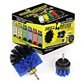 Boat Accessories - Cleaning Supplies - Drill Brush - Hull Cleaner - Pond Scum, Oily Residue, Weeds, Barnacles, Oxidation - Spin Brush for Fishing Boat - Kayak - Raft - Boat
