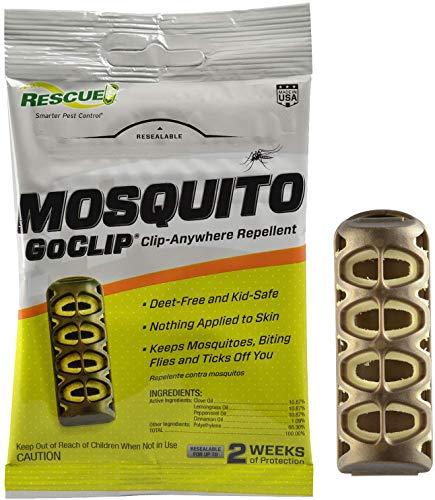 Rescue! Mosquito GoClip Repellent – Wearable Mosquito Repellent Clip