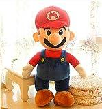1 Uds Super Mario Lindo Personaje De Juego Mario Juguetes De Peluche 50Cm Cosas Muñeca De Juguete Regalos De Cumpleaños para Niños