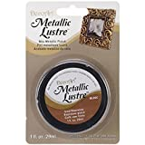 DecoArt ML06C-28 Metallic Lustre Wax, 1-Ounce, Iced Espresso, Brown