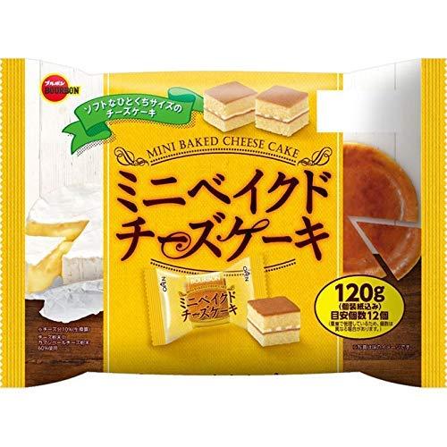 ブルボン ミニベイクドチーズケーキ 120gx6個