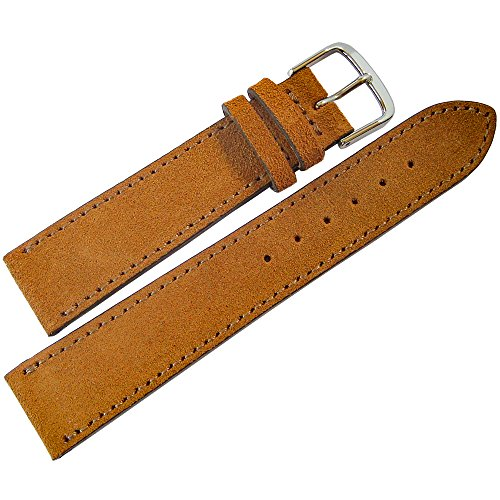 Fluco 20mm Saddle Suede Leather Wat…