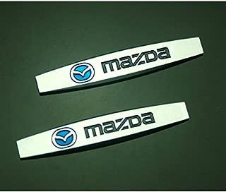 2pcs B329 Car Styling Accessories Chromed Emblem Badge Decal Fender Side Sticker Metal MAZDA 2 3 6 ATENZA AXELA CX-5 CX-7 CX-8