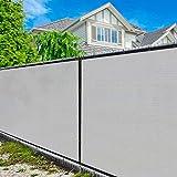 Amgo 6' x 50' Grey Fence Privacy Screen...