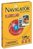 Navigator NAV1030 - Papel para documentos de color (120 g/m², 500 hojas, tamaño A3, color blanco