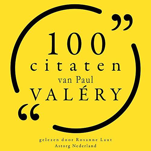 100 citaten van Paul Valéry  By  cover art