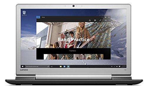 Lenovo IdeaPad 700 43,9 cm (17,3 Zoll Full HD IPS matt) Laptop (Intel Core i5-6300HQ, 8GB RAM, 1TB HDD, 256GB SSD, DVD, Nvidia GeForce 950M 4GB, Windows 10 Home) schwarz