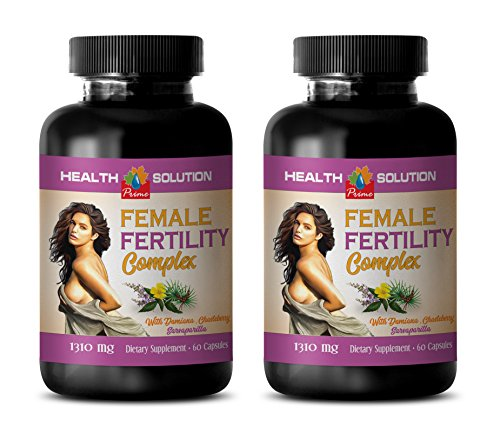 libido enhancer for women natural - FEMALE FERTILITY COMPLEX - folic acid best seller - 2 Bottles 120 Capsules