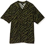 Volcom Embertone S/S Camisa, Hombre, Army Green Combo, M