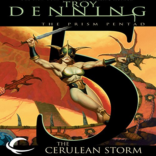 The Cerulean Storm audiobook cover art