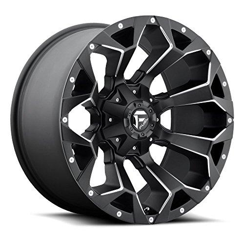 Fuel D546 Assault 22x12 5x114.3/5x127 -44mm Black/Milled Wheel Rim