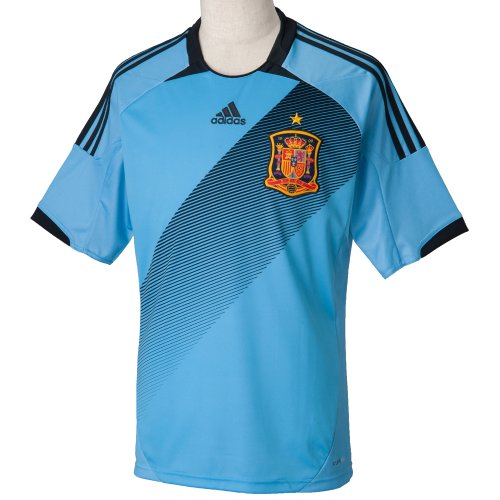 Adidas - Camiseta adidas selección española 2ª 2013, talla s, color azul