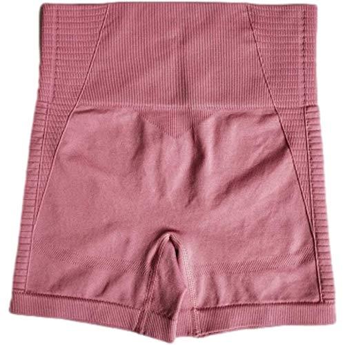 Qinvern Leggings de Yoga elásticos para Mujer Pantalones Cortos Malla de Secado rápido Transpirable Levantamiento de glúteos Control de Barriga Color Puro L