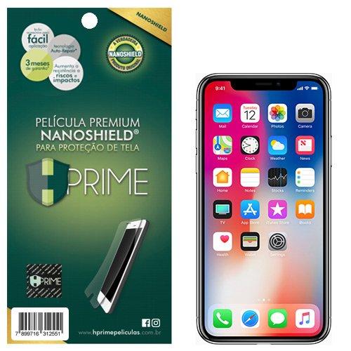 Pelicula NanoShield para Apple iPhone X/XS/11 Pró, Hprime, Película Protetora de Tela para Celular, Transparente