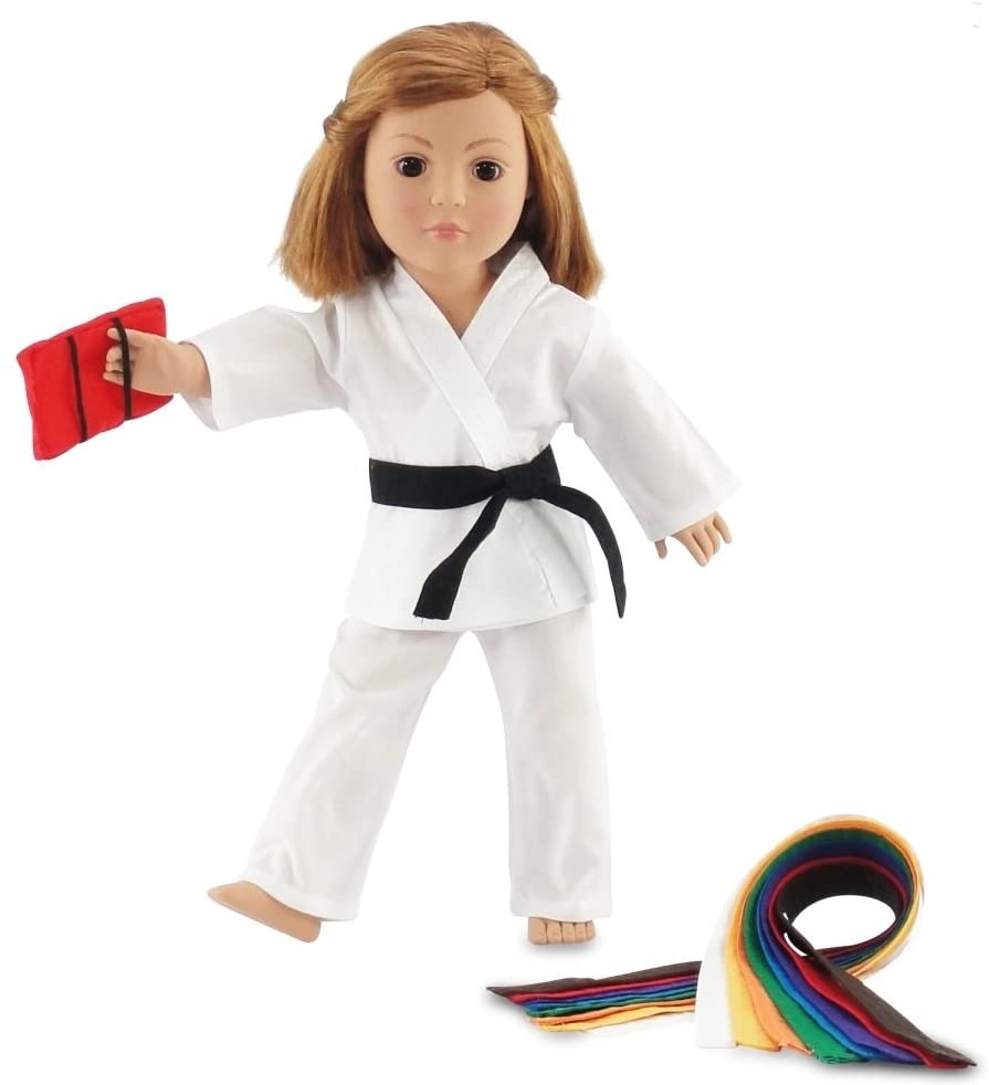 Emily Rose 18 Inch Doll Clothes Outfit Gift Ranking Now free shipping TOP4 Karate I Set