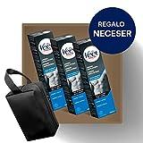 Crema Depilatoria Hombre | Veet for Men | Piel Sensible | Pack 3 x 200 ml y Neceser de Regalo
