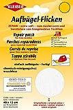 Kleiber + Co.GmbH Aufbügel-Flicken Zephir, weiß, ca. 40 cm x 12 cm