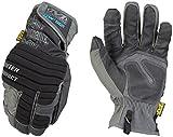 Mechanix Wear - Guantes de impacto de invierno (X-Grande, Negro/Gris)