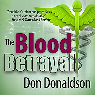 The Blood Betrayal audiobook cover art