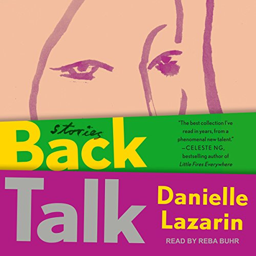 Back Talk audiobook cover art
