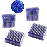 EXMAX Blue Indicating Silica Gel Beads(2-4mm) Desiccant Functional Hard Plastic Canister Dehumidifier Moisture Absorb Box Dryer for Camera Microscopes Telescopes - 4 Pack