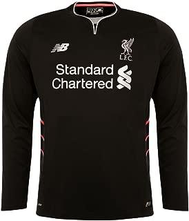 New Balance 2016-2017 Liverpool Away Long Sleeve Football Soccer T-Shirt Jersey