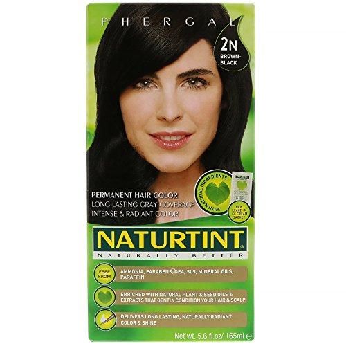 (4 PACK) - Naturtint - Hair Dye - 2N Brown Black 165ml