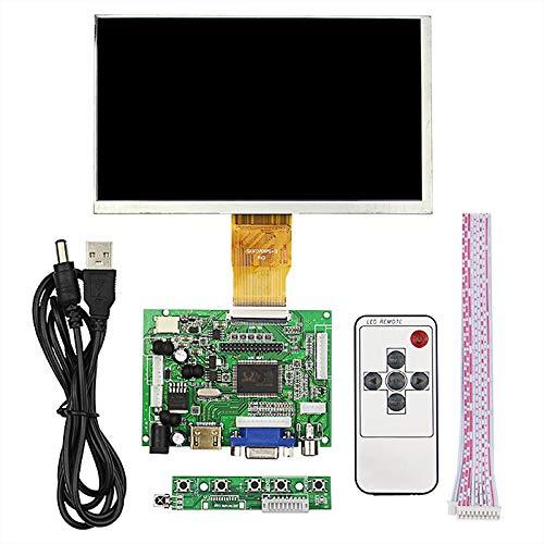 weichuang Elektronisches Zubehör Elektronisches Zubehör 7 Zoll 50Pin 1024 * 600 Split Style IPS-Bildschirm für RPi Elektronikzubehör