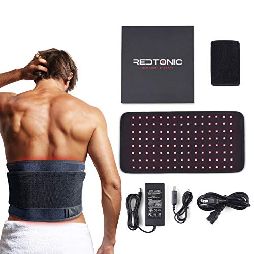 RedTonic Red Light Therapy Wrap - LED Device with 2 Wavelengths Including Red and Infrared