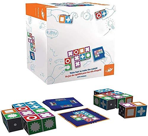 HLKJGS Match Madness Brettspiel, Thinking Logic Training Brettspiel, Matching Master Educational Logical Thinking Brettspiel Spielzeug, Kinder Matching Toys Intelligence Development Toy