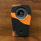 ModShield Sigelei TOP 1 230W TC Silicone Case ByJojo TOP1 Cover Wrap Shield Skin (Orange/Black)