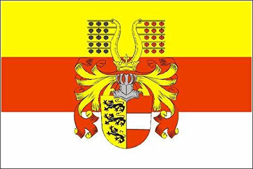 U24 Fahne Flagge Kärnten mit Prachtwappen 90 x 150 cm