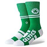 Stance Celtics - Calcetines para hombre, talla L, color verde