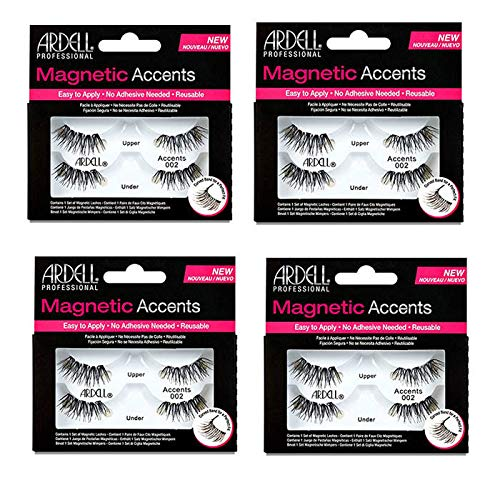Ardell Magnetic Lashes Accents 002 (4 Packs)