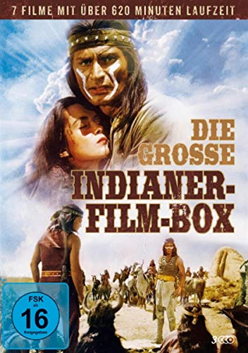 Die grosse Indianer-Film-Box [3 DVDs]