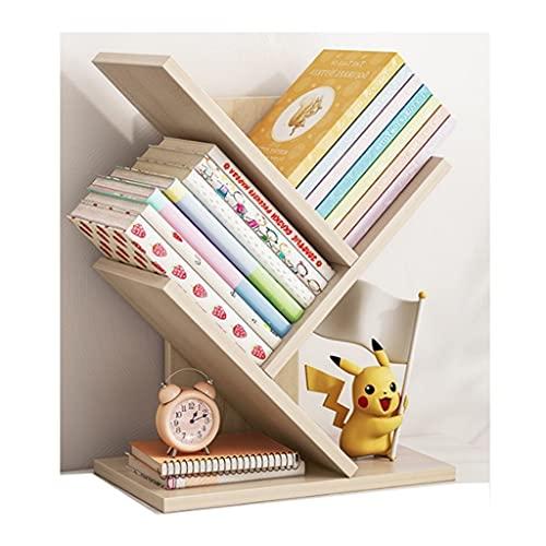LOMJK Librerías Estantería de 3 Capas, estantes de Almacenamiento de pie, estantes de exhibición, Altas librerías de estantes de Metal por habitación de Sala de Estar Armarios y estanterías