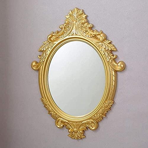 YYHAD Espejo baño, Espejo baño baño Espejo Montaje en Pared tocador decoración del hogar Espejo-3 (Color: 3),Espejo de Maquillaje (Color : 4)