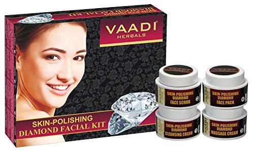 Vaadi Herbals Skin Polishing Diamond Facial Kit, 7