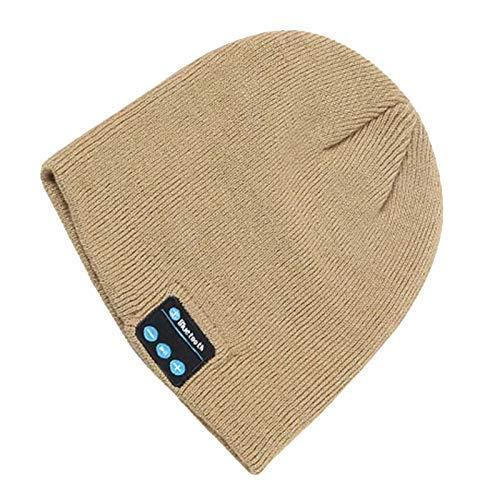 iSunday Bluetooth Breien Hoed Draadloze Hoofdtelefoon Muziek Warm Speaker Voor Vrouwen Mannen