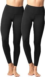 Yogalicious High Waist Ultra Soft Lightweight Leggings - High Rise Yoga Pants