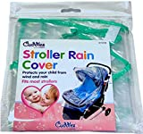 PaulStore New Stroller Rain Cover Universal Buggy Raincover For Baby Pushchair Pram Clear