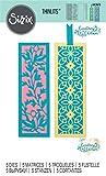 Sizzix Set de Troqueles Thinlits 663616 5 pzas Marca-Páginas Botánico by Courtney Chilson, Multicolor, talla única